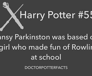 harry potter, hp, and hpotterfacts image