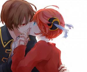 gintama, anime, and couple image