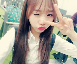 woollim and lovelyz sujeong image