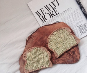 avocado, bed, and breakfast image