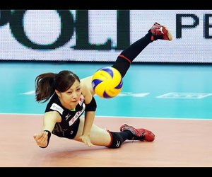 Action, sport, and volleybal image