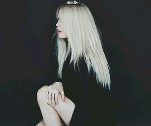 Queen, black, and debby ryan image