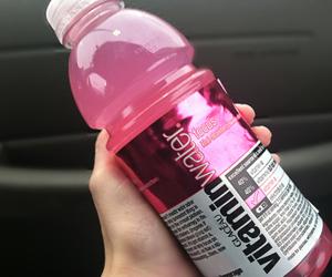 pink, vitamin water, and vitamin image
