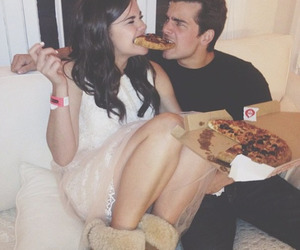pizza, maia mitchell, and john deluca image