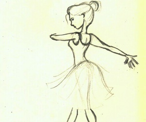 drawing, ballet, and draw image