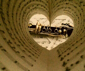 clarinet, heart, and me too image