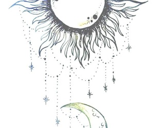 moon, sun, and stars image