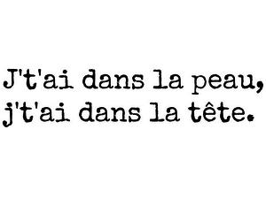 amour, francais, and parole image