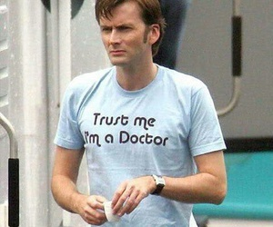 doctor who, david tennant, and tenth doctor image