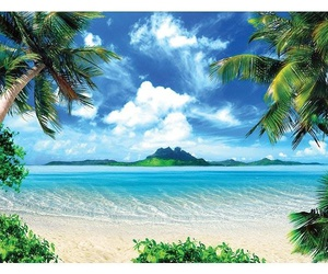 paradise and healthy-life image