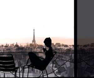 paris and coffee image