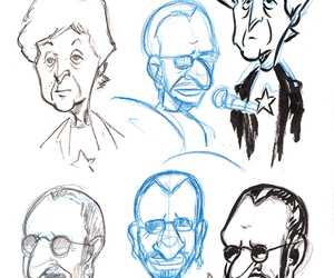 beatles, drawing, and ringo starr image