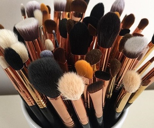 Brushes, lovely, and make up image
