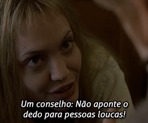 crazy, Angelina Jolie, and girl interrupted image