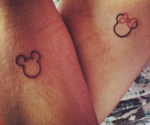 lovely, micky mouse, and minnie image
