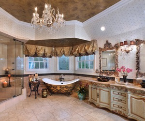 bathroom, luxury, and room image