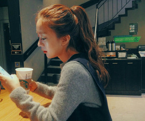 asian girl, girl, and hair image