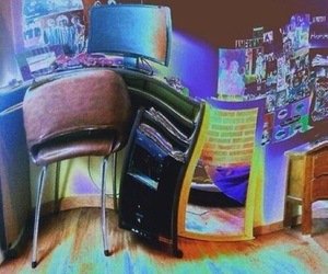 lsd, room, and drugs image
