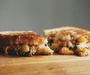 foodporn, food, and sandwiches image
