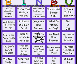 angels, awareness, and bingo image