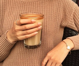 brown, coffee, and sweet image