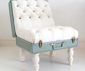 chair, suitcase, and design image