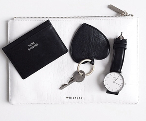 fashion, watch, and white image