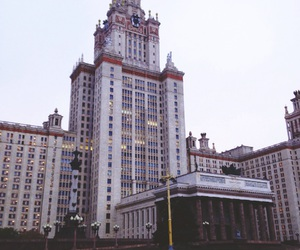 building, moscow, and russia image