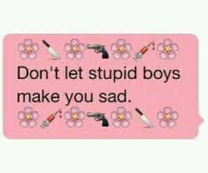 boy, stupid, and pink image