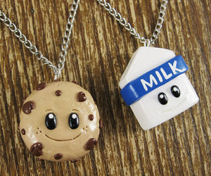 milk, cookie, and Cookies image