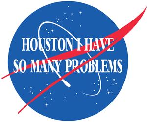 problem, houston, and nasa image