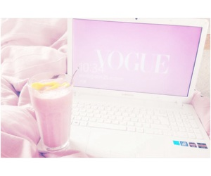 cocooning, pink, and smoothie image