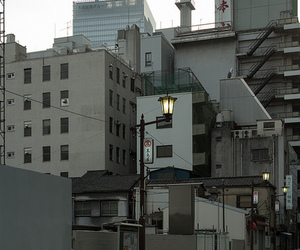 japan, building, and street image
