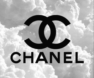 chanel, clouds, and fancy image