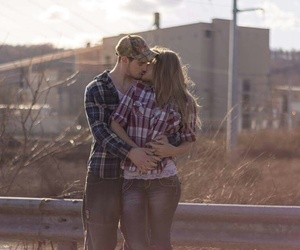 country, love, and cute couple image