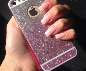 cover, sparkle, and iphone 5s image