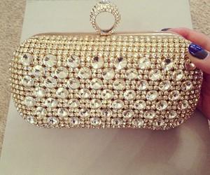 fashion, bag, and clutch image