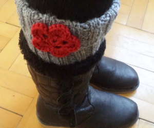 boot, clothing, and leg warmers image