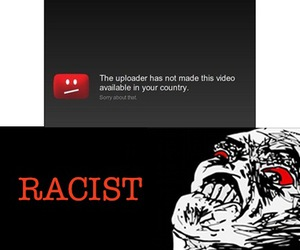 funny, racist, and youtube image