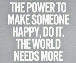 happy, power, and quote image