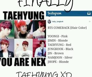funny, jin, and comeback image
