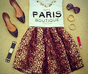 fashion, outfit, and paris image