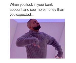 funny, Bank, and money image