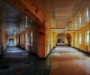 abandoned, destroyed, and haunted image