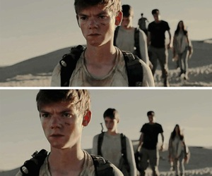 the scorch trials, newt, and the maze runner image