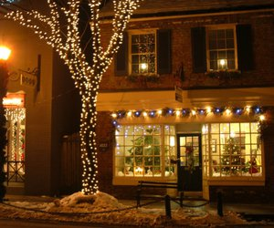christmas and snow image