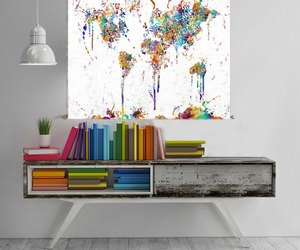 colors, abstract art, and Abstract Painting image