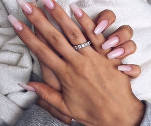 beauty, ring, and white image