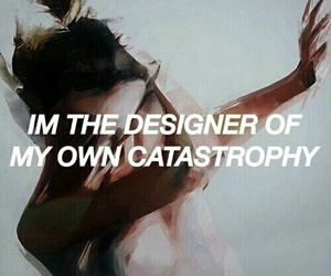 depression, quote, and catastrophy image