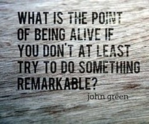 quote, john green, and life image
